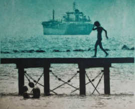 Despina - Walking The Pier Blue
