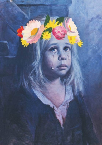 Lucy Bryant - Crying Girl Flower Crown