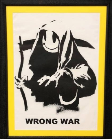 Banksy - Wrong War 1