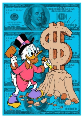 Snooty - Scrooge Making Money