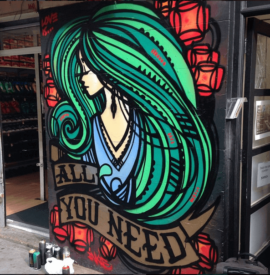 Inkie - All You Need Is Love - Street