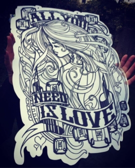 Inkie - All You Need Is Love - Mirror 1