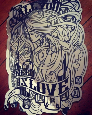 Inkie - All You Need Is Love - Mirror 2