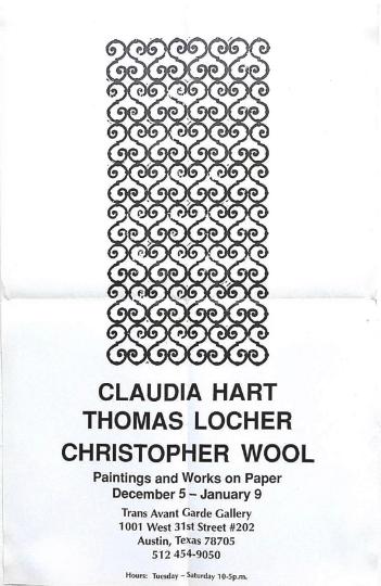Christopher Wool - Texas
