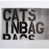 Christopher Wool - Cats In Bags 2