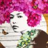 Gareth Tristan Evans - Lace Cap Flutter Too Rose Gold Leaf 2