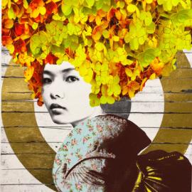 Gareth Tristan Evans - Lemon Crush Gold Leaf 1
