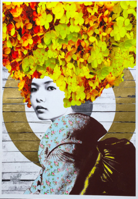 Gareth Tristan Evans - Lemon Crush Gold Leaf