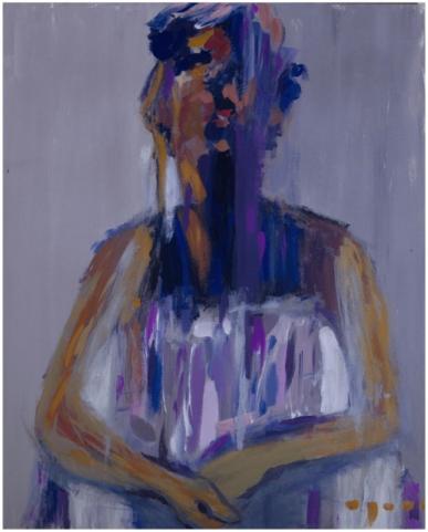 Maria Iriarte - Pensive Girl