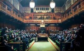 Banksy - Monkey Parliament