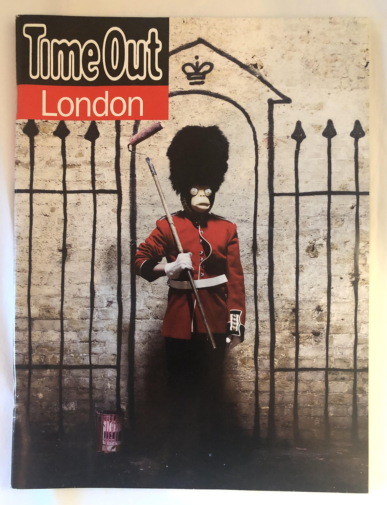 Banksy - Time Out Magazine