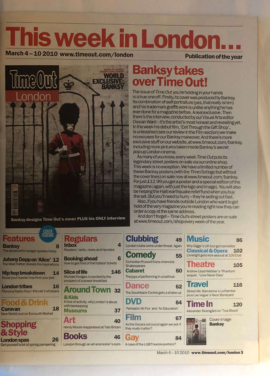 Banksy - Time Out Magazine Complete 11