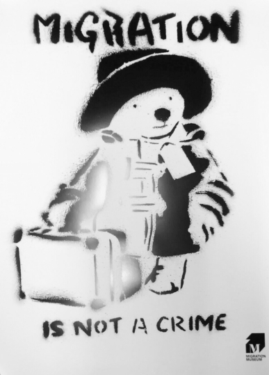 Banksy - Paddington Bear