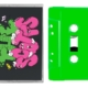 KAWS - Travis Scott Pink & Green Cassette