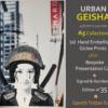 Urban Geisha A5 Collection Cities - Gareth Tristan Evans
