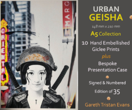 Urban Geisha A5 Collection Cities - Gareth Tristan Evans