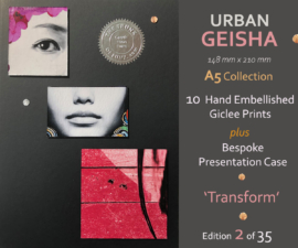 GTE - Urban Geisha A5 Collection Number 2 - Gareth Tristan Evans #1