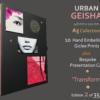 Urban Geisha A5 Collection Number 2 - Gareth Tristan Evans #2