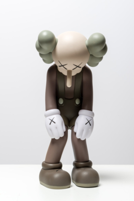 KAWS - Small Lie Brown 6