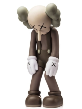 KAWS - Small Lie Brown 7