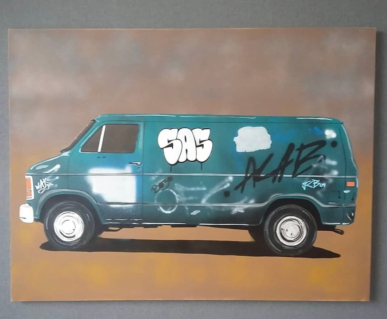 S.A.S_ART - Graffiti Van