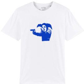 Clown Tee Blue White