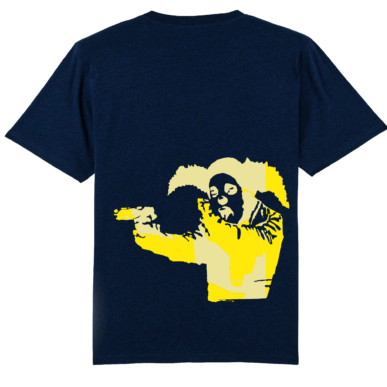 Clown Tee Daily Yellow