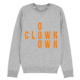 Clown Tee Grey Sweat