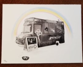 Ted Patrick - Dismaland Fan Gift Print Unsigned