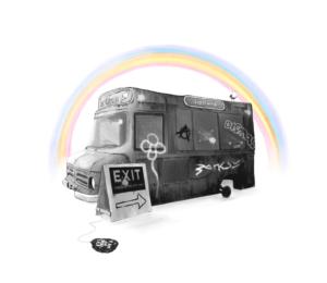 Ted Patrick - Dismaland Van (1)