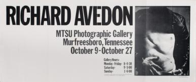 Warhol MTSU Gallery Poster