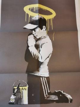 Banksy - Don't Panic 6