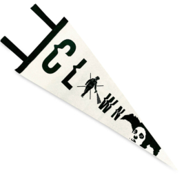 CLOWN 'PEPPER SPRAY PRESS' PENNANT (1)