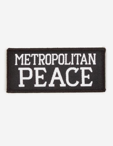 Banksy War Boutique Badge