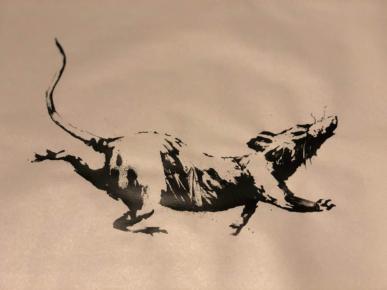 Banksy - Rat Race 1