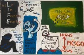 Mr MentalHealth - Don't Forget My Happy Pills