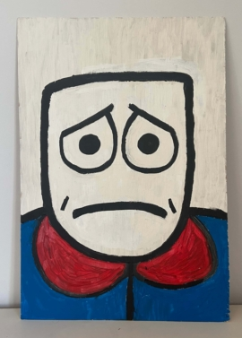 Mr MentalHealth - Self Portrait