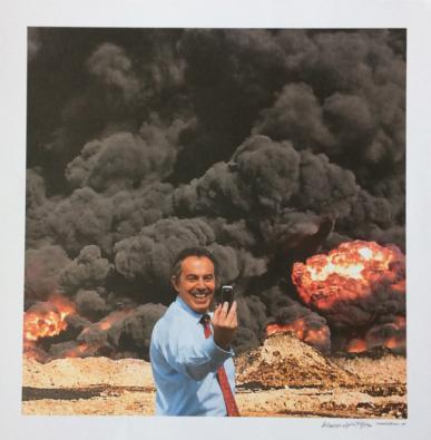 Peter Kennard - Photo Op 2