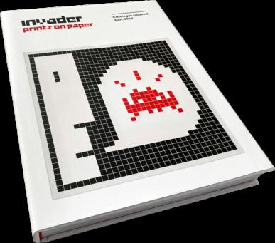 Invader - Prints On Paper