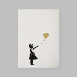 West Country Prince - Girl With Balloon (Gold)