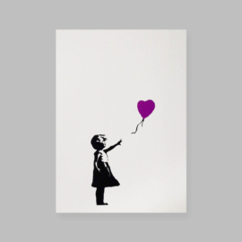 West Country Prince - Girl With Balloon (Purple)