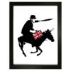 Donkey O'Tea Framed