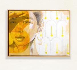 Hannah Adamaszek - Golden Light Framed on wall web